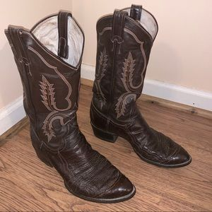6dbe5ea5637 Men Ostrich Cowboy Boots on Poshmark